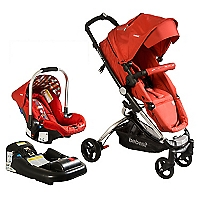 Coche Travel System Eclipse Rojo