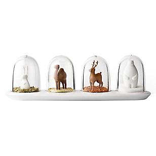 Set 4 Especieros Animales