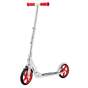 Scooter A5 Lux Silver