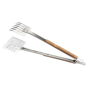 Espátula-Tenedor para Parrilla