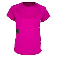 Polera One Series Advance Morado