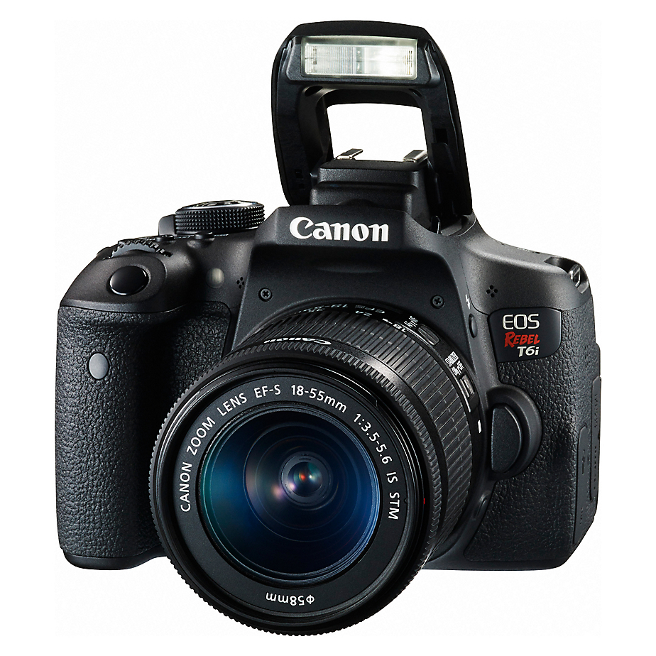 Cámara fotográfica - Canon Réflex Profesional EOS Rebel T6i de 24
