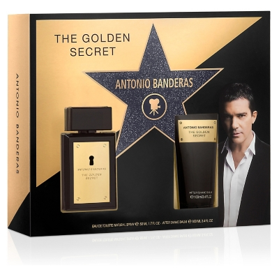 Estuche The Golden Secret EDT 50 ML + After Shave Balm 100 ML