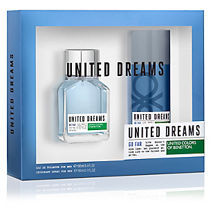 Estuche United Dreams EDT 100 ML + Desodorante 150 ML