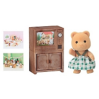 Juguete Bear Sister W Tv Set