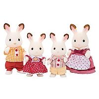 Juguete Chocolate Rabbit Family