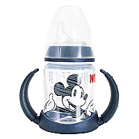 Vaso Training Cup Mickey 150 ml negro