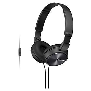 Audífonos Over-Ear MDR-ZX310AP/B Negro