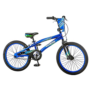 Bicicleta Aro 20 Throttle Azul