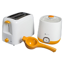 Pack Desayuno Tostador + Yogurth Maker +  Exprimidor Manual