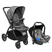 Coche Travel System Style Gris