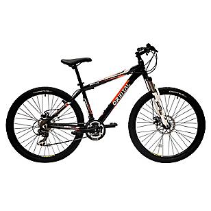 Bicicleta Mystuc aro 26 Negro/Naranjo