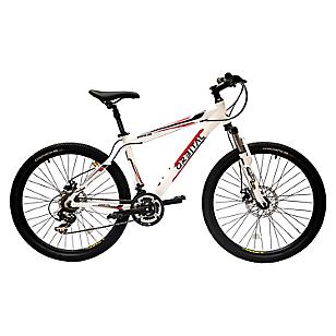 Bicicleta Mystuc aro 26 Blanco/Rojo