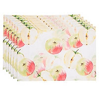 Set 6 Individuales Apple Water