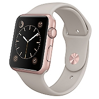 AppleWatch Sport 42 mm Rose Gold Stone