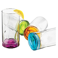 Set 4 vasos altos Color