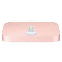 Docking Charger Iphone 5/6 Oro Rosa