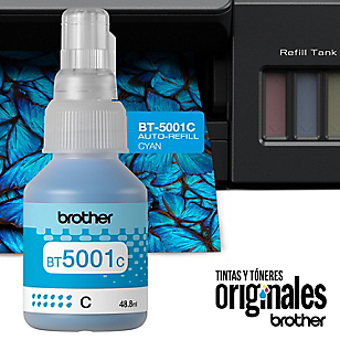 Tintas Brother BT5001 C Azul