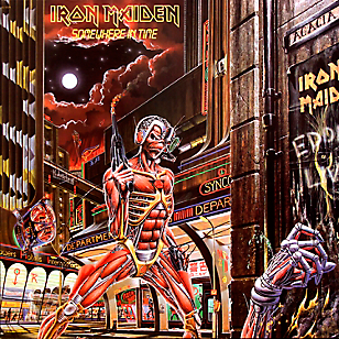 Vinilo Iron Maiden Somewhere in time