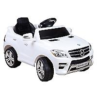 Auto A Batería Mercedes Benz Blanco