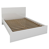 Cama Europea 2 Plazas + Respaldo Top