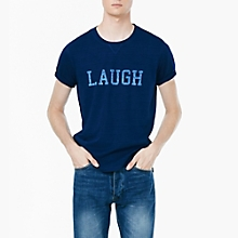 Camiseta Laugh Algod�n