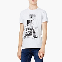 Camiseta Algod�n Estampada