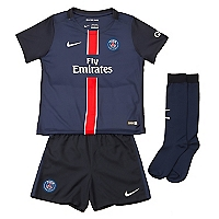 Kit Ni�o PSG Camiseta + Short + Calcetines