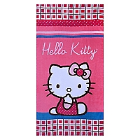 Toalla de Playa  Hello Kitty Scottish 300 gr