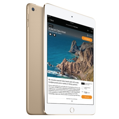 iPad Mini 4 Apple MK6L2CI/A 16GB G Oro