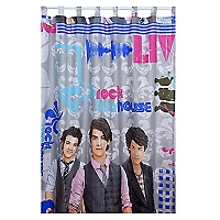 Cortina Infantil Jonas Brothers