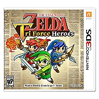 The Legend Of Zelda Tri Force Heroes DS