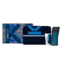 Set Kenzo Homme EDT 100 ML + After Shave 50 ML + Pouch