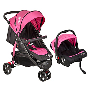 Coche Travel System Fucsia Rs-13661