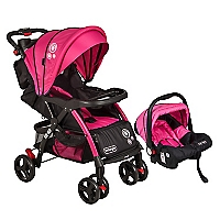 Coche Travel System Fucsia Rs-13663