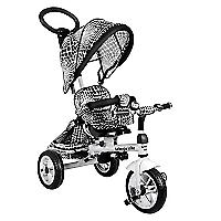 Triciclo Metal Asiento Giratorio Blanco 4055