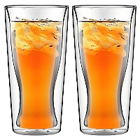 Set 2 Vasos Cerveceros Doble Pared