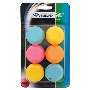 Set 6 Pelotas de Ping-Pong Jade Multicolor