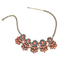 Collar Cinco Flores