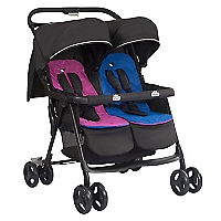 Coche Dúo Aire Twin Pink And Blue