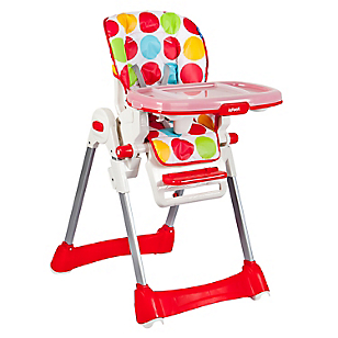 Silla Comer Happy Meal Bg-89 Red