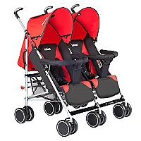 Coche D�o Btwins Mb109 Black Red