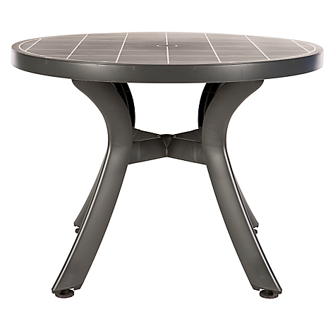 bcasual mesa redonda toscana 4 personas terraza