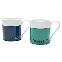 Set 2 Mugs Bicolor 16