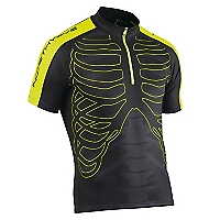 Polera Esqueleto Negra-Amarilla