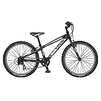 Bicicleta Aro 24 Precaliber 21S Negra