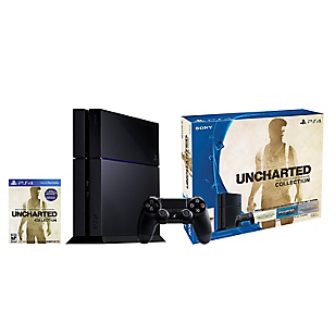 Consola PS4 500GB + Uncharted Collection (descargable)