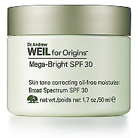 Tratamiento de Mancha Dr. Weil Mega Bright Skin Illuminating Moisturizer Oil Free UV30