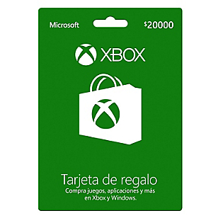 GiftCard Xbox $20.000 CLP