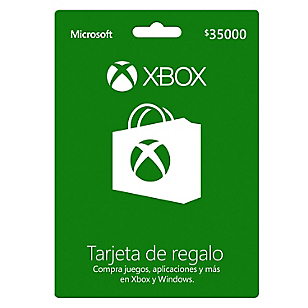 GiftCard Xbox $35.000 CLP